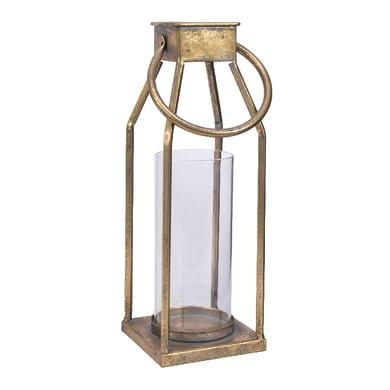 Lanterna oro H 25 cm,