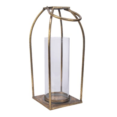 Lanterna oro H 37 cm,