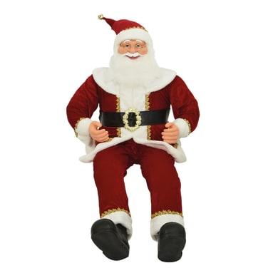 Babbo natale multicolore Natale L 60 x P 60 x H 140 cm