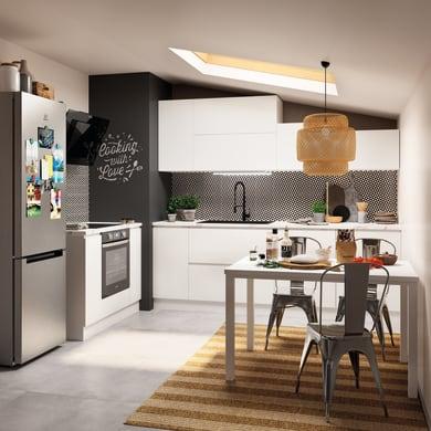 Cucina in kit DELINIA bianco L 370 cm