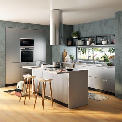 Cucina in kit DELINIA grigio L 540 cm