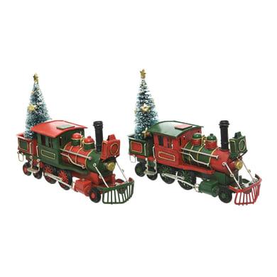 Figura natalizia multicolore L 20 x P 7 x H 13 cm