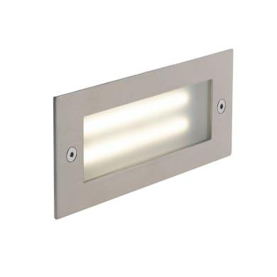 Faretto da incasso da esterno rettangolare BOLT-RT170 LED integrato 7 x 18 cm 6W 480LM 1 x IP65
