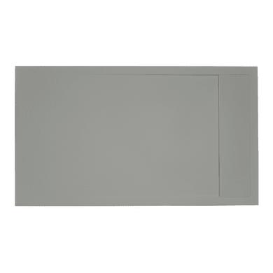 Piatto doccia gelcoat Neo 70 x 80 cm grigio