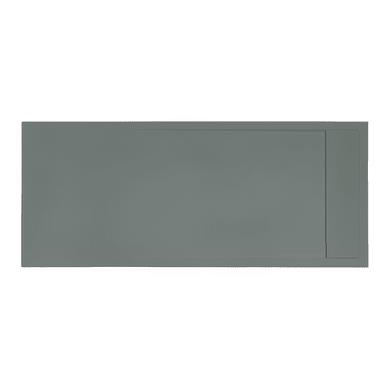 Piatto doccia gelcoat Neo 70 x 80 cm grigio scuro