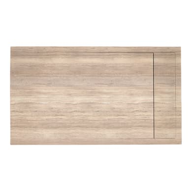 Piatto doccia gelcoat Neo marmo 70 x 80 cm beige