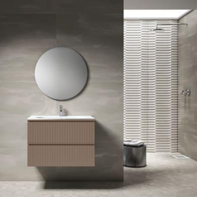 Mobile bagno Ares corallo L 80 cm