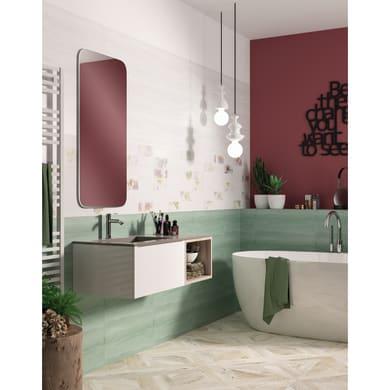 Rubinetto per vasca Freestanding grigio cromato