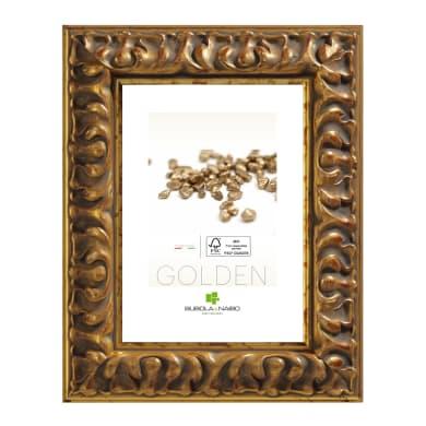 Cornice Clio oro per foto da 18x24 cm