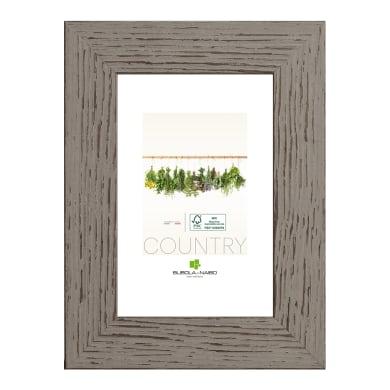 Cornice Athina grigio per foto da 18x24 cm