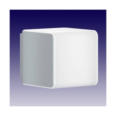 Applique L 830 LED integrato con sensore di movimento, grigio, 9.5W 502LM IP44 STEINEL