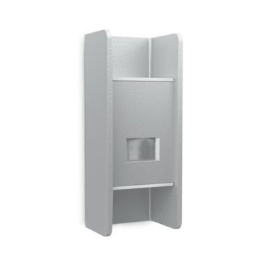 Applique L 920 LED integrato con sensore di movimento, grigio, 10W 516LM IP44 STEINEL