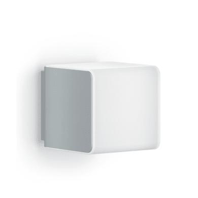 Applique L 840 LED integrato con sensore di movimento, grigio, 9.5W 305LM IP44 STEINEL
