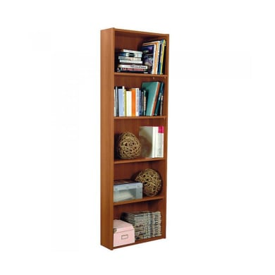 Libreria 5 ripiani L 55 x P 21 x H 175 cm