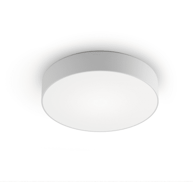 Plafoniera Lia LED integrato bianco, in metallo,