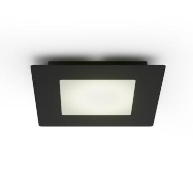 Plafoniera Hunk bianco, in vetro, 2  luci