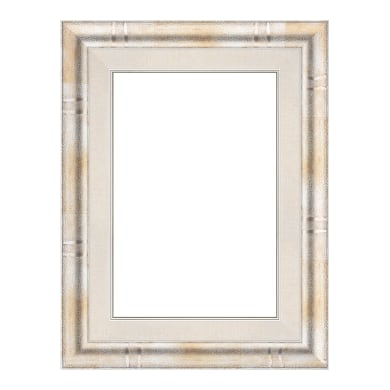 Cornice Tamara argento per foto da 18x24 cm