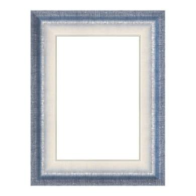 Cornice Tamara azzurro per foto da 18x24 cm