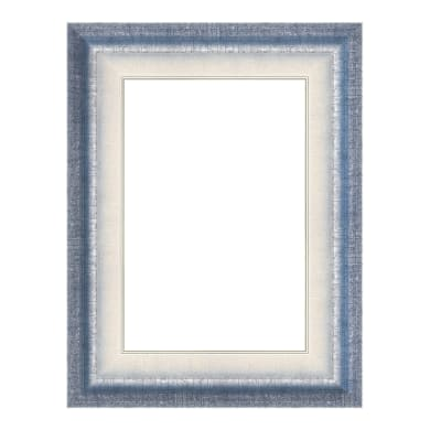 Cornice Tamara azzurro per foto da 70x100 cm