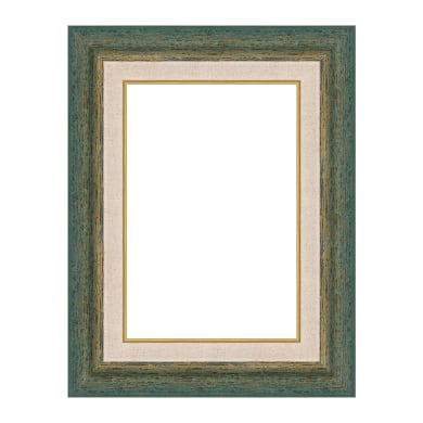 Cornice Mark verde per foto da 70x100 cm