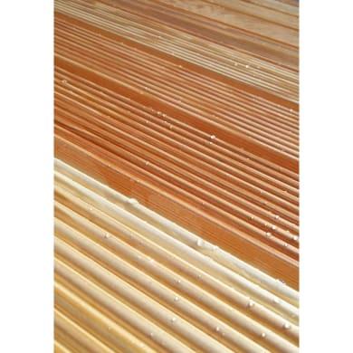 Pedana in legno  naturale 74 x 74 cm
