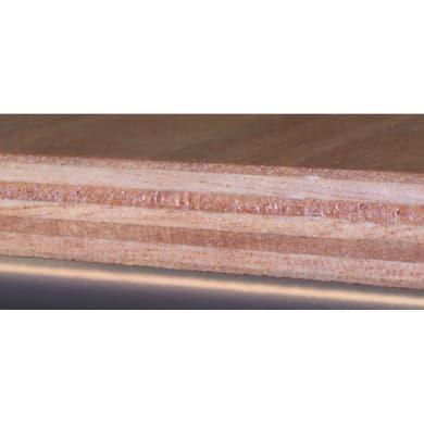 Pedana in legno  naturale 59.5 x 59.5 cm