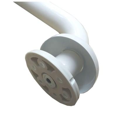 Maniglione in acciaio L 12 cm bianco