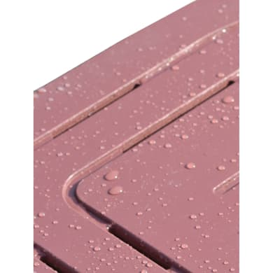 Pedana in legno  bianco 59.5 x 59.5 cm