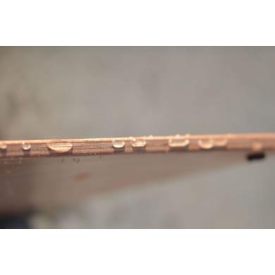 Pedana in legno  naturale 52 x 140 cm