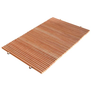 Tappeto antiscivolo in legno