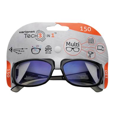 Occhiale di protezione graduato nero VARIONET Varionet Tech 3 in 1