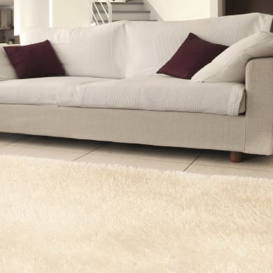 Tappeto Shaggy enzo , bianco, 200x300 cm