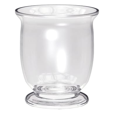 Vaso in vetro Lefkas H 22 cm Ø 18.5 cm