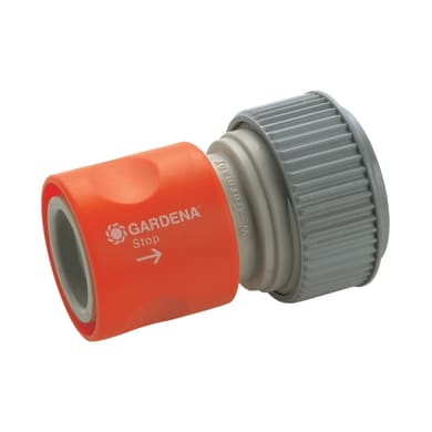 Connettore rapido femmina GARDENA Aquastop 19 mm