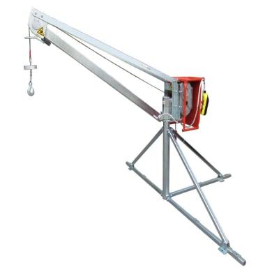 Paranco elettrico Gruetta portata max 350 kg cavo da 40 m
