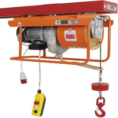 Paranco elettrico portata max 800 kg