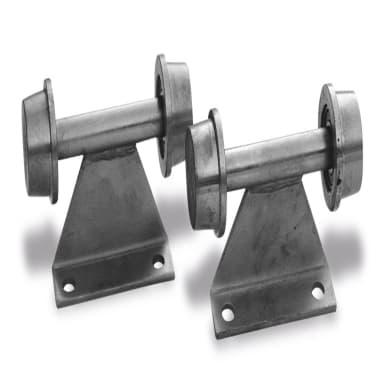 Ruota doppia in acciaio Ø 60 cm 2 pezzi