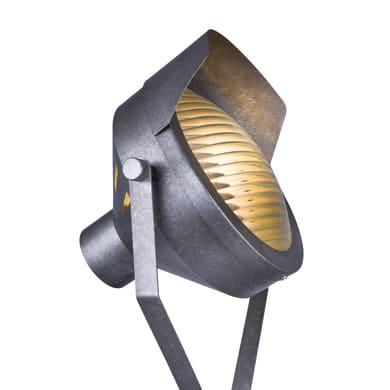 Lampada da terra brunito, in metallo, H180cm, GLOBO