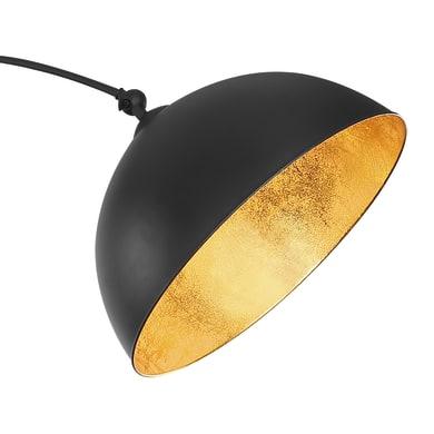 Lampada da terra nero, in metallo, H182cm, GLOBO