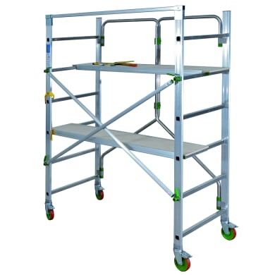 Trabattello in alluminio per lavori fino a 2.1 m