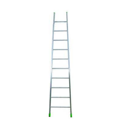 Scala ad appoggio in alluminio 9 gradini per lavori fino a 3.76 m