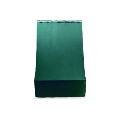Telo per tendone/tenda da esterni verde unito 1.4 x 3 m