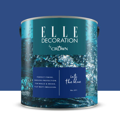 Pittura murale ELLE DECORATION 2.5 L into the blue no.251