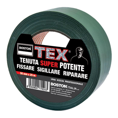 Nastro adesivo 50 mm x 25 m verde