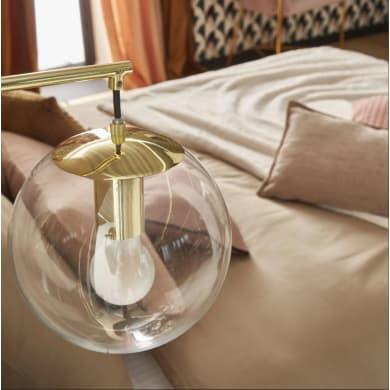 Applique glamour Globus ottanio, in vetro,  D. 20 cm LUSSIOL