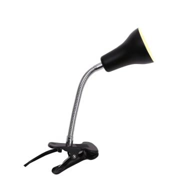Lampada da scrivania Salta nero, in metallo, GU10 IP20 INSPIRE