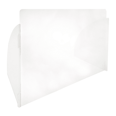 Schermo di protezione plexiglass trasparente 90 cm x 60 cm, Sp 3 mm