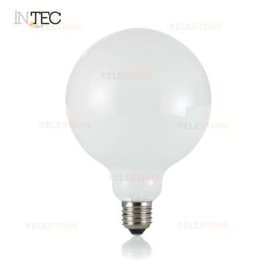 Lampadina LED filamento, E27, Globo, Opaco, Luce fredda, 8W=1055LM (equiv 80 W), 300°