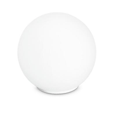 Lampada da scrivania City bianco, in vetro, E14