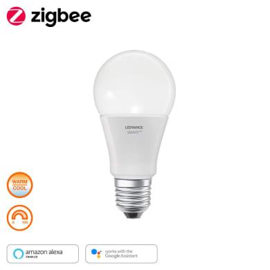 Lampadina collegato LED E27, Goccia, Opaco, Bianco, Luce calda, 60W=810LM (equiv 60 W), 160° , LEDVANCE